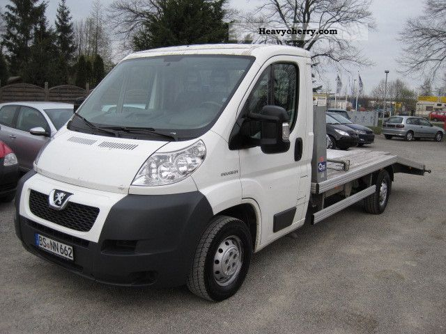 2007 Peugeot  Boxer (air) Van or truck up to 7.5t Car carrier photo