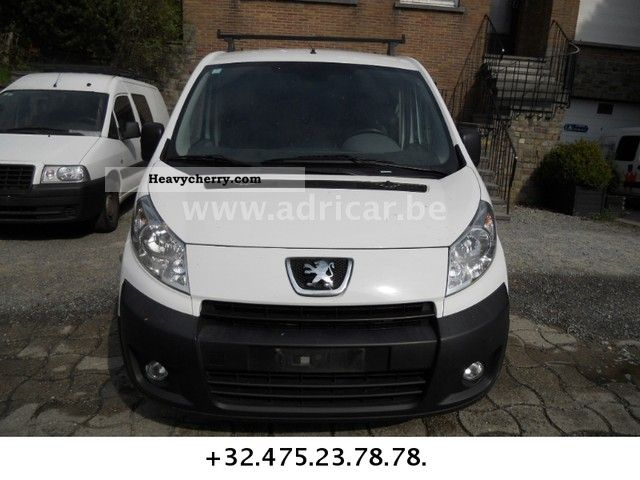 peugeot expert 2 0 hdi airco 2007 box type delivery van photo and specs. Black Bedroom Furniture Sets. Home Design Ideas