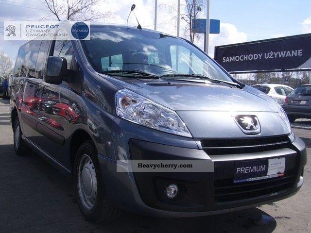 2011 Peugeot  Expert Tepee 8osob premium. Van or truck up to 7.5t Box-type delivery van photo