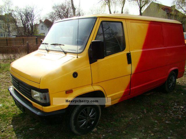1993 Peugeot  J5 Van or truck up to 7.5t Box-type delivery van photo