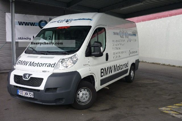 2009 Peugeot  BOXER 335MH FAP 160 KW Van or truck up to 7.5t Box-type delivery van - high and long photo