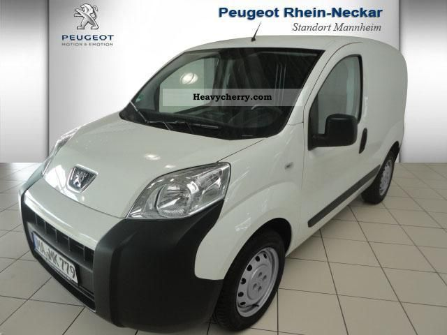 peugeot bipper van hdi 75 s u0026 s 2011 box type delivery van photo and specs. Black Bedroom Furniture Sets. Home Design Ideas