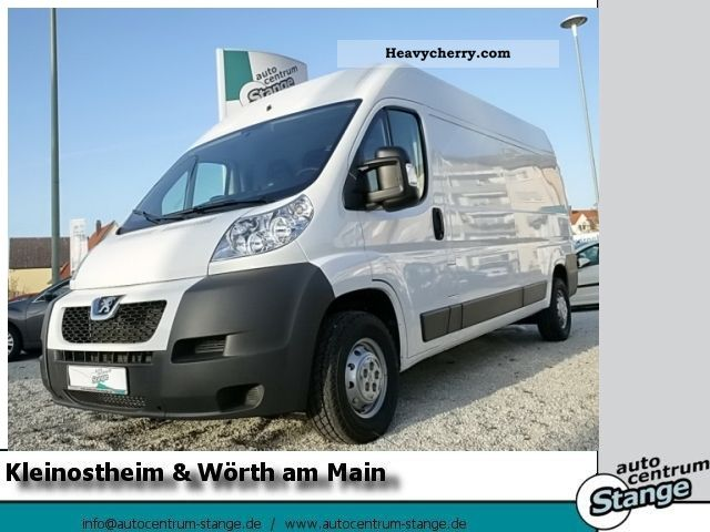 2011 Peugeot  Boxer 335 L3 H2 HDi 130 Avantage Van or truck up to 7.5t Box-type delivery van - high photo