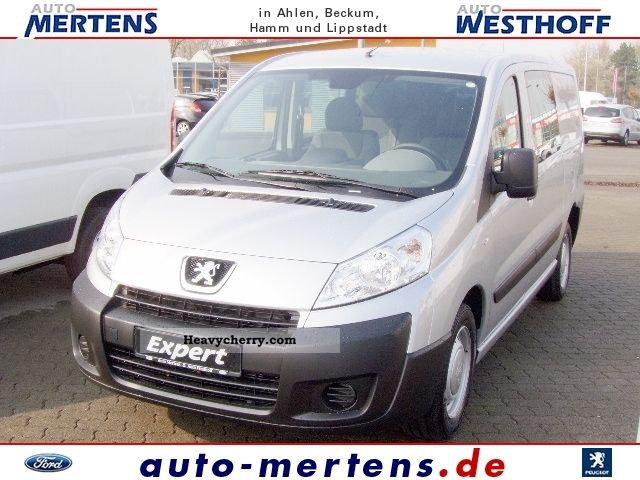 peugeot expert l2h1 hdi 130 doka double cab air 2011 other vans trucks up to 7 photo and specs. Black Bedroom Furniture Sets. Home Design Ideas