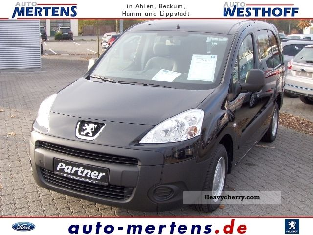 2011 Peugeot  Partner HDI FAP 90, L2 double cab, Van or truck up to 7.5t Other vans/trucks up to 7 photo