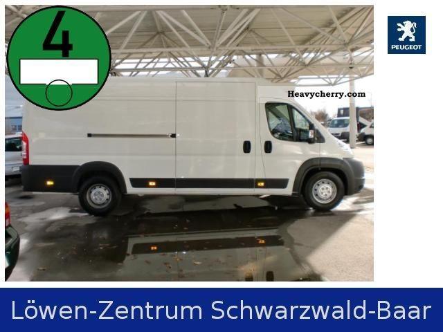 2010 Peugeot  Boxer Van 435 L4H2 3.0 HDi FAP Van or truck up to 7.5t Box-type delivery van - high photo