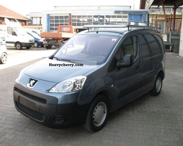 2009 Peugeot  Partner HDI 90 air Partikelfiltr EURO 4 Van or truck up to 7.5t Box-type delivery van photo