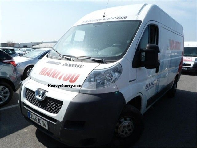 2007 Peugeot  boxer Van or truck up to 7.5t Box-type delivery van photo