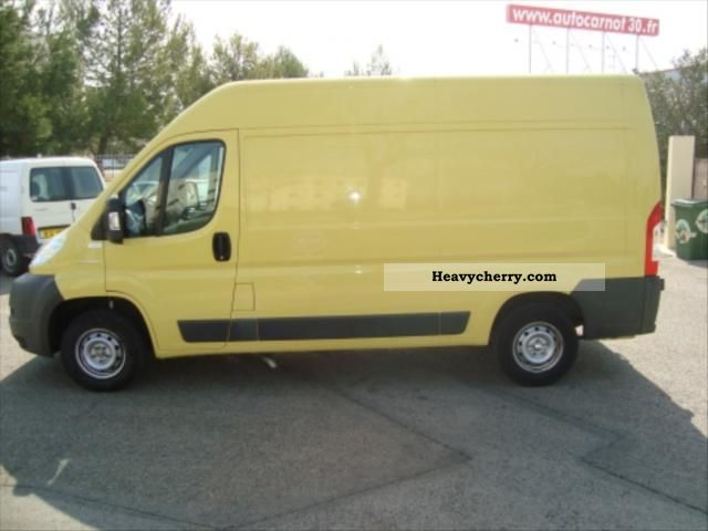 2009 Peugeot  L2 H2 Boxer HDI 120 Pack Van or truck up to 7.5t Box photo