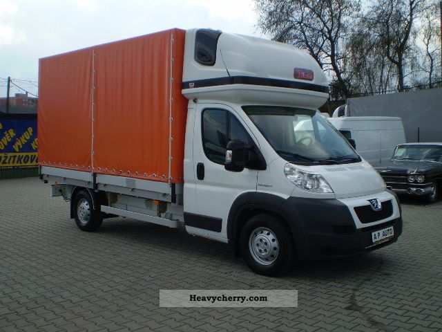 peugeot boxer pritsche plane air 2 2hdi 2009 stake. Black Bedroom Furniture Sets. Home Design Ideas