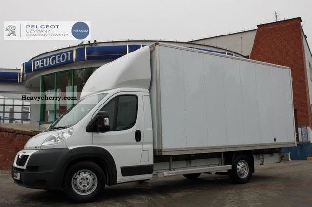 2010 Peugeot  Boxer 3.0 HDi 435 KONTENER Meblowy JAK Van or truck up to 7.5t Chassis photo