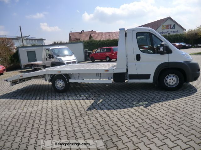 2011 Peugeot  Boxer 3.0 Auto Transporter Aluvollplateau Van or truck up to 7.5t Car carrier photo