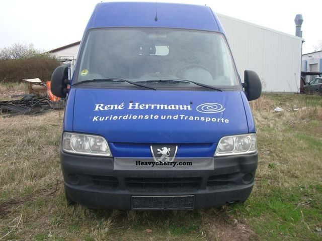2005 Peugeot  244 L Van or truck up to 7.5t Box-type delivery van - high and long photo