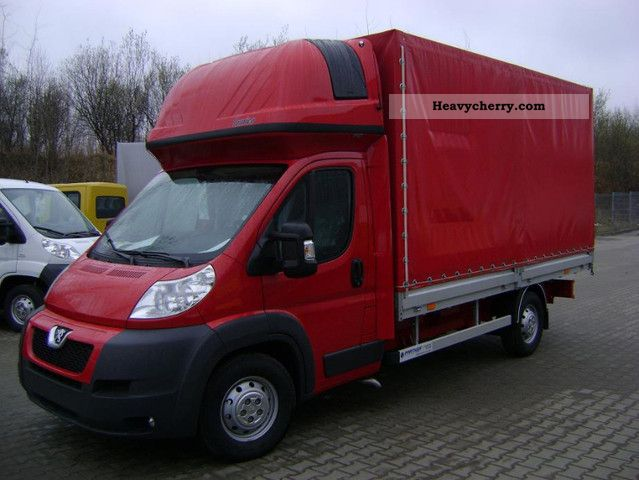 2011 Peugeot  Boxer 8 palet eu € 4 120km Van or truck up to 7.5t Stake body and tarpaulin photo