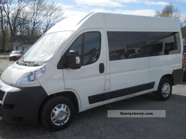 2009 Peugeot  BOXER 3.0HDI High + 9-seater long-DOUBLE AIR Van or truck up to 7.5t Estate - minibus up to 9 seats photo