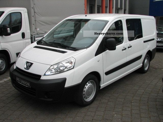 peugeot expert l2h1 double cabin 6 sitze 2xschiebet r 2012 box type delivery van photo and specs. Black Bedroom Furniture Sets. Home Design Ideas