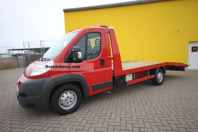 2011 Peugeot  Boxer 3.0 HDI Autotransporter AHK Air * 3.0 t * Van or truck up to 7.5t Car carrier photo