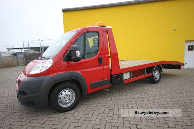 2011 Peugeot  Boxer 3.0 HDI Autotransporter AHK Air * 3.0 t * Van or truck up to 7.5t Breakdown truck photo