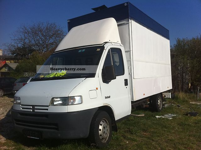 1996 Peugeot  boxer Van or truck up to 7.5t Traffic construction photo