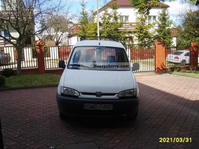 1999 Peugeot  Partner Van or truck up to 7.5t Other vans/trucks up to 7 photo