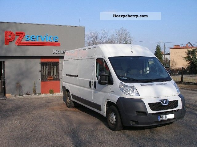 2009 Peugeot  Boxer L3H2 2.2 HDI 120 Van or truck up to 7.5t Box-type delivery van - high and long photo