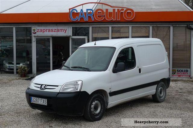 2007 Peugeot  Partner Van or truck up to 7.5t Other vans/trucks up to 7 photo