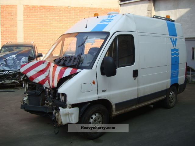 2002 Peugeot  Boxer 2.0 HDI 330CS Van or truck up to 7.5t Box-type delivery van - high photo