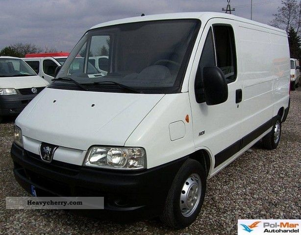 peugeot boxer 2006 box type delivery van long photo and specs. Black Bedroom Furniture Sets. Home Design Ideas
