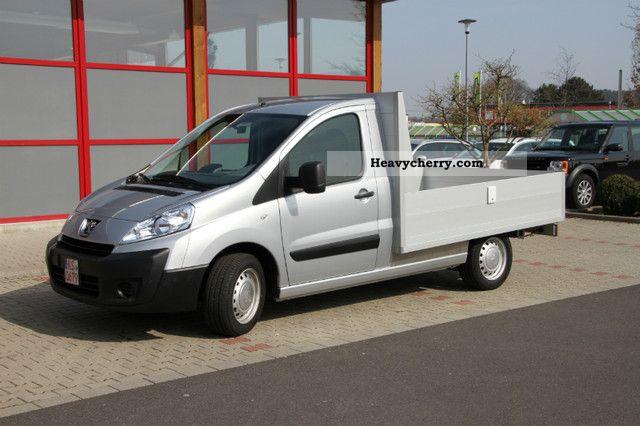 2011 Peugeot  Expert Platform Van or truck up to 7.5t Stake body photo