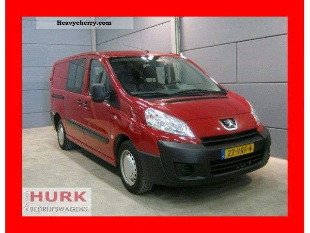 2008 Peugeot  Expert 1.6 Hdi l2 312/2880 * dc dubbel cabine Air Van or truck up to 7.5t Box-type delivery van photo