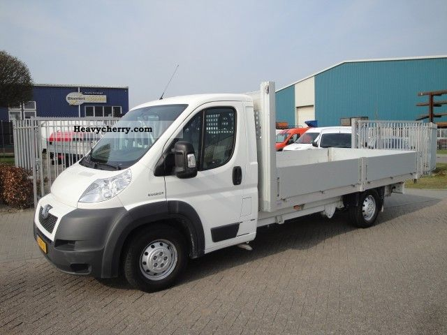 2009 Peugeot  Boxer 2.2 HDi 403/3500 Inner box open Van or truck up to 7.5t Stake body photo