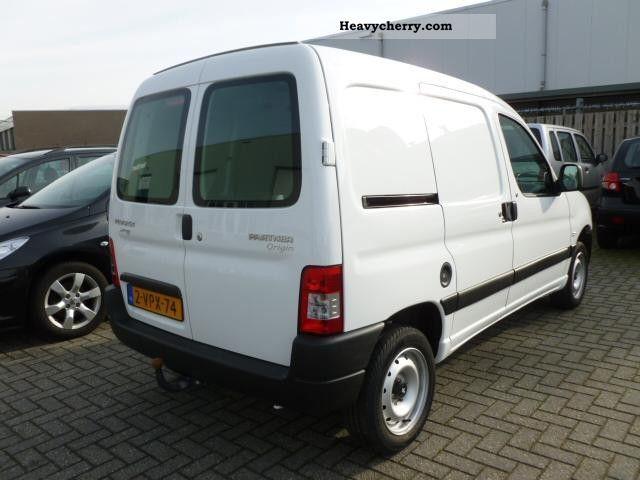 2011 Peugeot  Partner 1.6 HDI Schuifdeur Van or truck up to 7.5t Other vans/trucks up to 7 photo