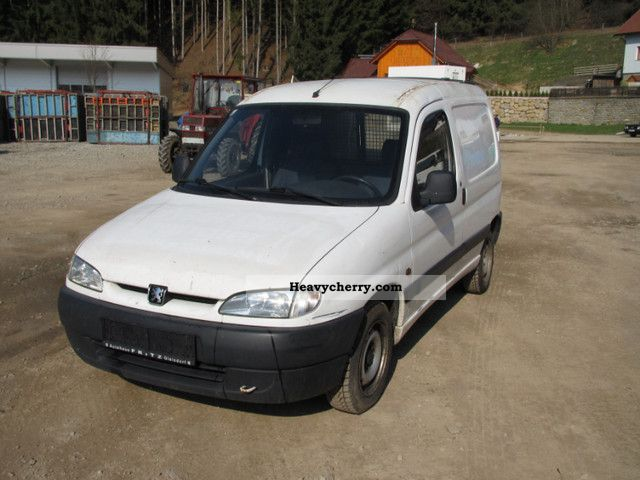 1998 Peugeot  Professional partners 170C D Van or truck up to 7.5t Box-type delivery van photo