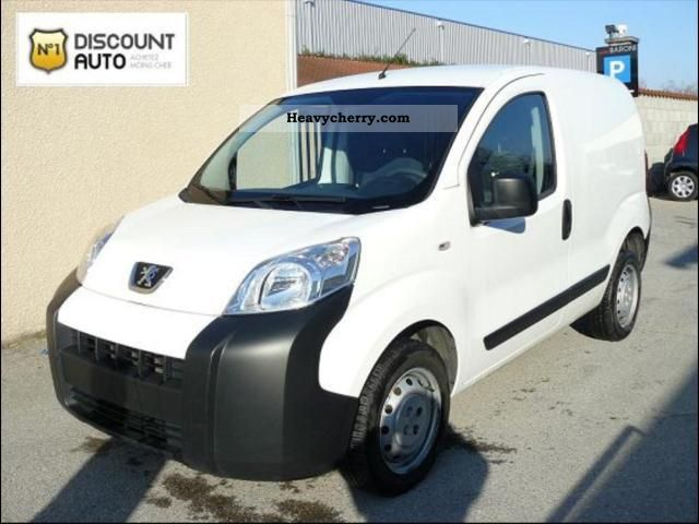 2009 Peugeot  Bipper HDI 70 CH PACK CD CLIM Van or truck up to 7.5t Box photo