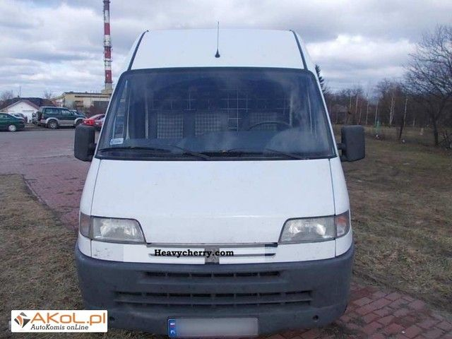 1994 Peugeot  Boxer Van or truck up to 7.5t Box-type delivery van photo