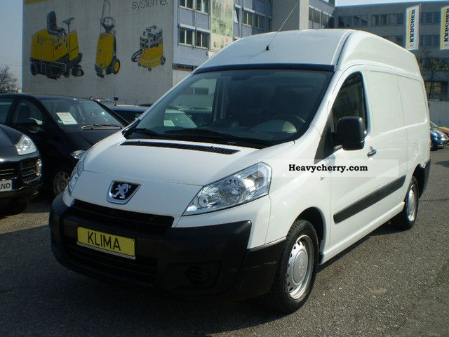 2010 Peugeot  Expert 2.0 HDI box in COOL / Air / High Van or truck up to 7.5t Box-type delivery van - high photo