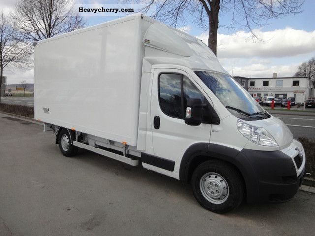 2011 Peugeot  Boxer 150 hp Case Van or truck up to 7.5t Box photo