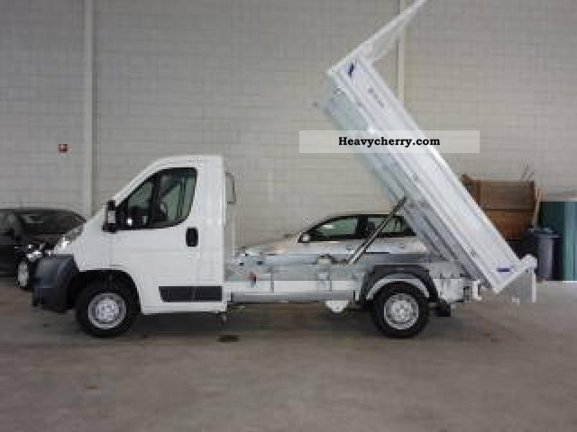 2011 Peugeot  Boxer TIPPER climate APC Pricehit 2.2 HDi 120 hp Van or truck up to 7.5t Other vans/trucks up to 7 photo