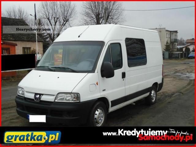 2005 Peugeot  Boxer KredytujemySamochody.pl Van or truck up to 7.5t Other vans/trucks up to 7 photo