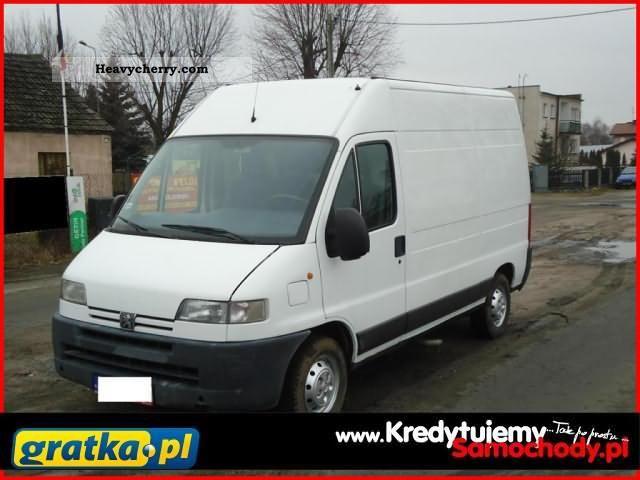 2001 Peugeot  Boxer KredytujemySamochody.pl Van or truck up to 7.5t Other vans/trucks up to 7 photo