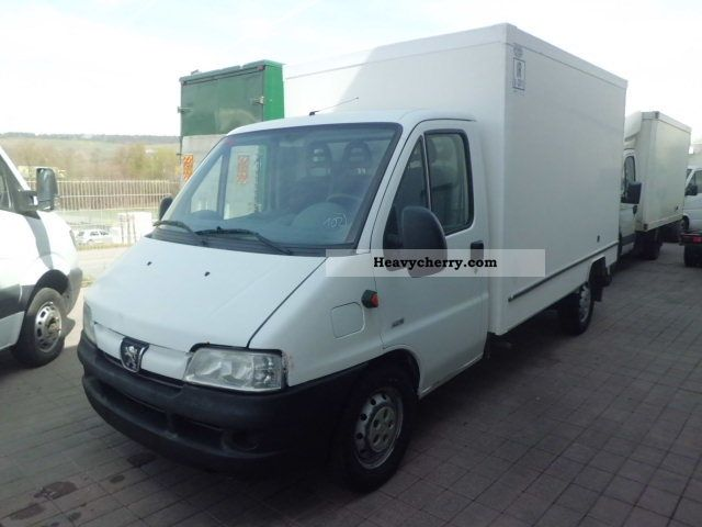 2002 Peugeot  Boxer HDI * Insulated Case * Van or truck up to 7.5t Box photo