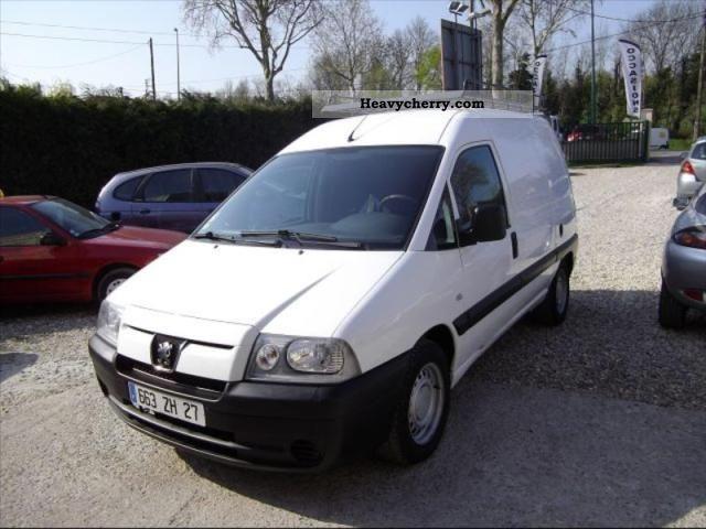 2006 Peugeot  Expert ccb FG 220C (4M3) HDI95 CD CLIM Van or truck up to 7.5t Box photo