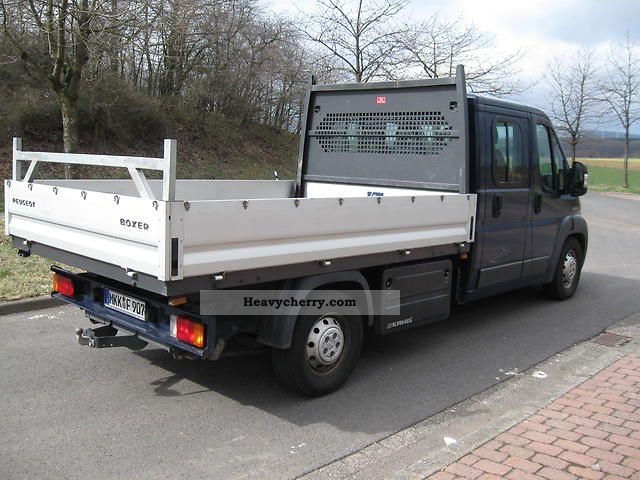 2009 Peugeot  Boxer Van or truck up to 7.5t Stake body photo