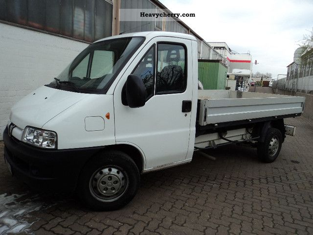 2006 Peugeot  Boxer 2.8HDI Platform Van or truck up to 7.5t Stake body photo