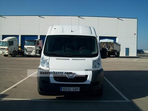 2008 Peugeot  BOXER Van or truck up to 7.5t Other vans/trucks up to 7 photo