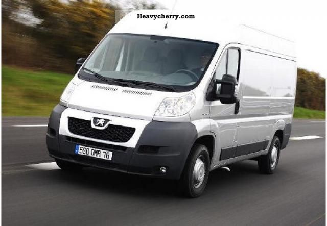 2012 Peugeot  Boxer 3.0 / 160hp HDI L3H2 335 vans lag ... Van or truck up to 7.5t Other vans/trucks up to 7 photo