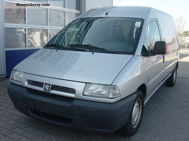 2001 Peugeot  * Expert 2.0 HDI - 1.Hand * Van or truck up to 7.5t Box-type delivery van photo
