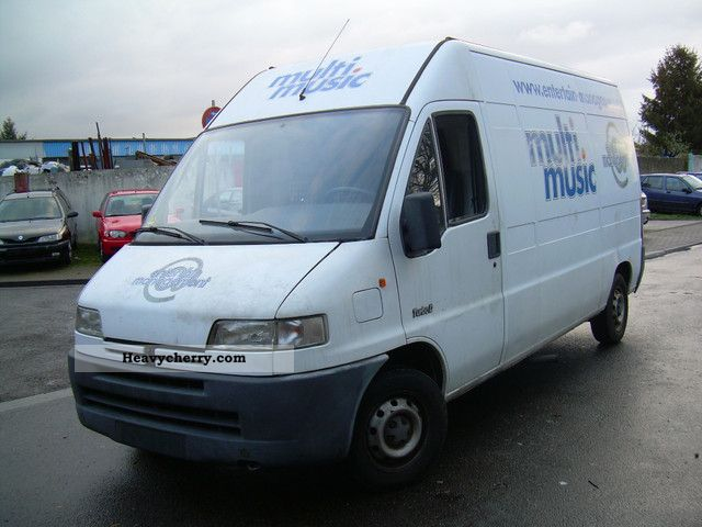 1995 Peugeot  Boxer 2.5 02.2013 TUV high long engine failure Van or truck up to 7.5t Box-type delivery van - high and long photo