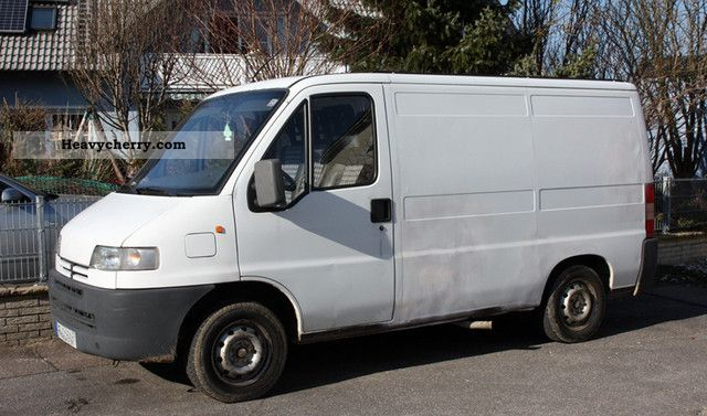 1996 Peugeot  Boxer 230 L Van or truck up to 7.5t Box-type delivery van photo