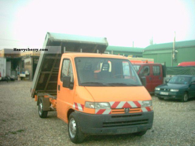 1997 Peugeot  230 DriseitenKipper Van or truck up to 7.5t Tipper photo